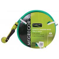 MCGREGOR'S 15M LIGHT GREEN FITTED GARDEN HOSE