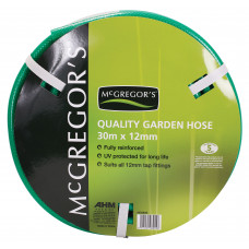 MCGREGOR'S 30M GREEN 5 YEAR GARDEN HOSE (7-HOSE30V)