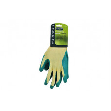 MCGREGOR'S LARGE CRINKLE LATEX COTTON GLOVES (PAIR)