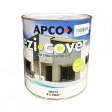 APCO EZI COVER UNDERCOAT 4L WHITE ACRYLIC