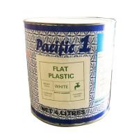 PACIFIC 'UMATA FLAT PLASTIC WHITE 4LTR