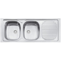 TRAMONTINA STEEL SINK 1200X500MM 34R PERFECTA