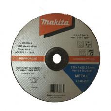 MAKITA METAL GRINDING DISC 230x6x22.23MM 5PK